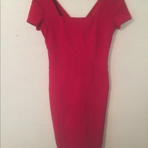 Adrianna Papell Classic Red Dress